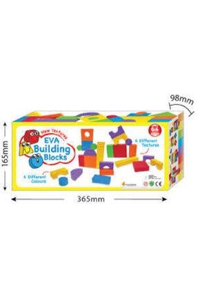 Elele Eva Yapı 64 Parça 6 Farklı Renk Ve Yüzey Blokları 1