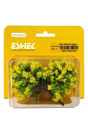 Jordania Eshel 10 cm 2'li Sarı Renkli Ağaç 0