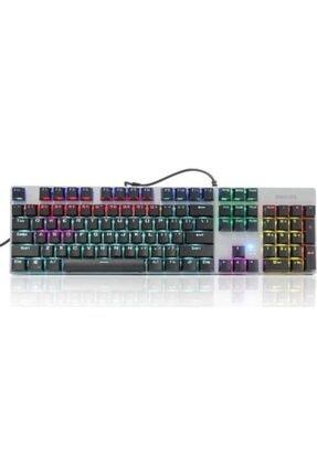 Philips Spk8404 Siyah/gümüş Rainbow Mekanik Oyuncu Klavye 1