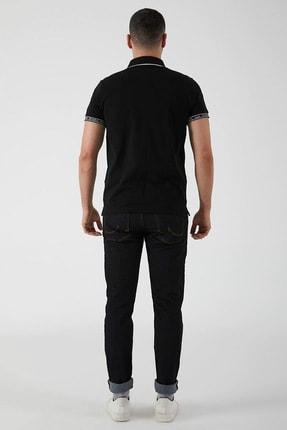 Ltb Erkek  Siyah Polo Yaka T-Shirt 012208408060890000 3