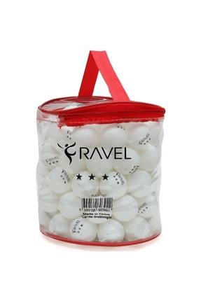 Ravel 100'lü Çantalı Masa Tenisi Topu (Pinpon Topu) 0