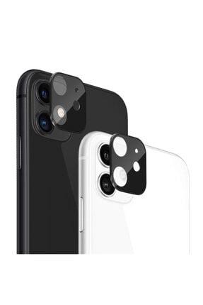 Microsonic Apple Iphone 11 (6.1'') Kamera Lens Koruma Camı V2 Siyah 3