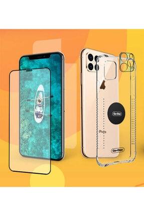 Go-Des Iphone Se 2020 5li Set Kılıf Kamera Lens Ön Arka Ekran Koruyucu 2