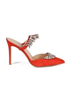 تصویر از Canna Narcıcegı Süet Taşlı Kadın Stiletto & Abiye Ayakkabı