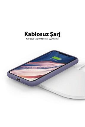 Mobilteam Apple Iphone 6s Kılıf Içi Kadife Lansman Kapak - Mor 3