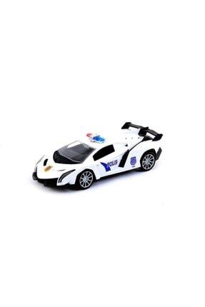 Kayyum Oyuncak Oyuncak Rd-002 Uzaktan Kumandalı Polis Arabası Şarjlı Spor 28 Cm 0