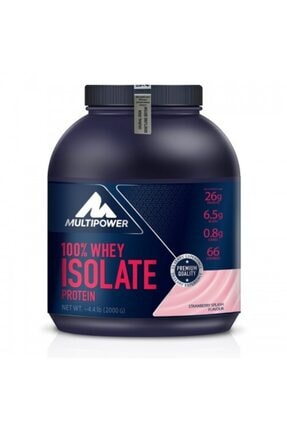 Multipower %100 Whey Isolate Protein Tozu 2000 gr 0