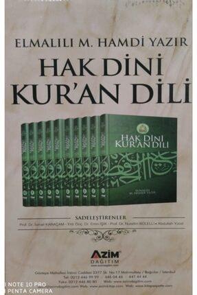 Azim Dağıtım Hak Dini Kuran Dili Elmalılı Tefsir * 0