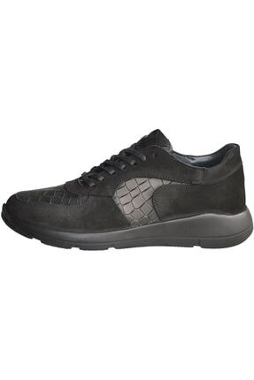 MPP Hakiki Deri Ortopedik Erkek Sneaker Ayakkabı Mboss011 Nbk Krk Siyah 2