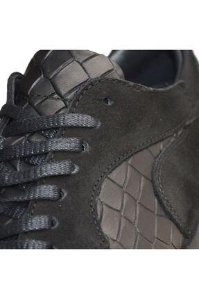 MPP Hakiki Deri Ortopedik Erkek Sneaker Ayakkabı Mboss011 Nbk Krk Siyah 3