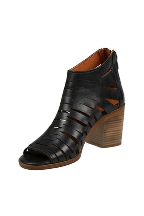 Hammer Jack Sıyah Bayan Ayakkabı 448 1306-Z 3