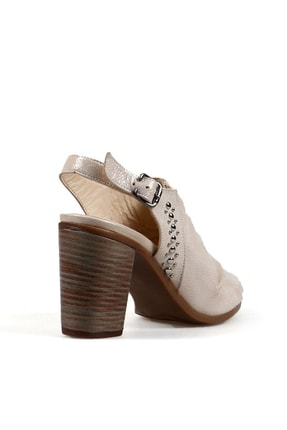 Hammer Jack Vızon Saten Kadın Ayakkabı 5 2