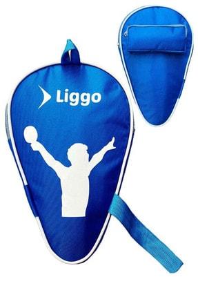 Liggo Masa Tenisi Raketi Kılıfı Pinpon Topu ve Raket Çantası 0