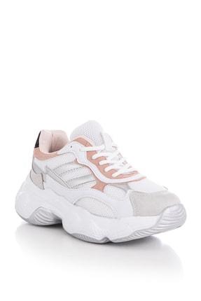 Tonny Black Kadın Spor Ayakkabı Beyaz Pudra Tb246 1