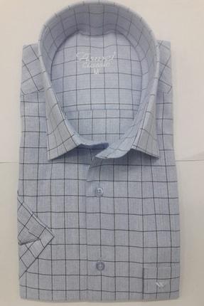 ASWEL Erkek Kısa Kol Gömlek 0