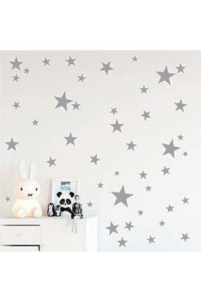 hediyepostası Yıldız Duvar Sticker 3-4-5cm 100 Adet 0