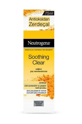 Neutrogena Soothing Yağsız Yüz Nemlendiricisi 75 Ml 0