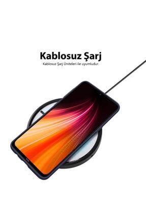 Mobilteam Xiaomi Redmi Note 8 Kılıf Içi Kadife Lansman Kapak - Lavanta Gri 3