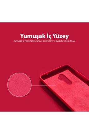 Mobilteam Xiaomi Redmi Note 8 Kılıf Içi Kadife Lansman Kapak - Lavanta Gri 4