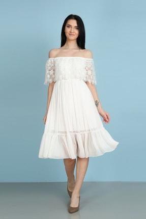 Element's Güpür Detaylı Koldan Sarma Elbise 0