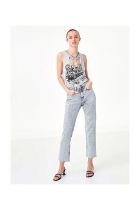 Twist Kadın Taş Cut Out Detaylı Tshirt TS1200070208030 0