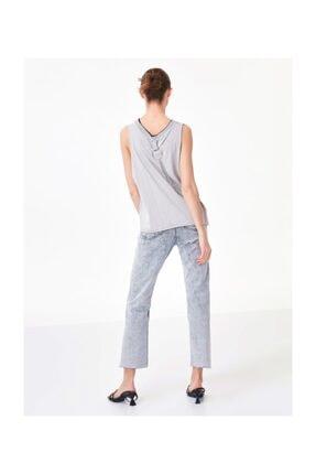 Twist Kadın Taş Cut Out Detaylı Tshirt TS1200070208030 1