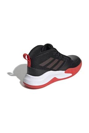 adidas Siyah Ownthegame K Wıde Çocuk Basketbol Ayakkabısı 3