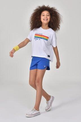 bilcee Beyaz Kız Çocuk T-Shirt GS-8150 1