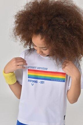 bilcee Beyaz Kız Çocuk T-Shirt GS-8150 2