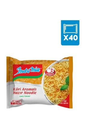 Indomie Indomie 40'lı Köri Aromalı Hazır Noodle Paket 1