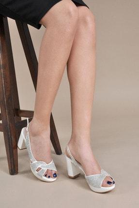 تصویر از Kadın  Sedef Klasik Topuklu Ayakkabı Vzn20-042y