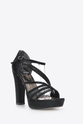 Kadın  Siyah- Slt Klasik Topuklu Ayakkabı Vzn20-035y resmi