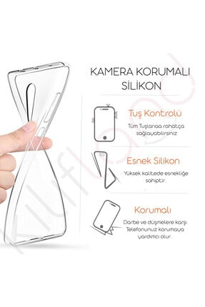 Kılıfland Samsung Galaxy A01 Silikon Resimli Kapak Rainbow Stok 1276 3