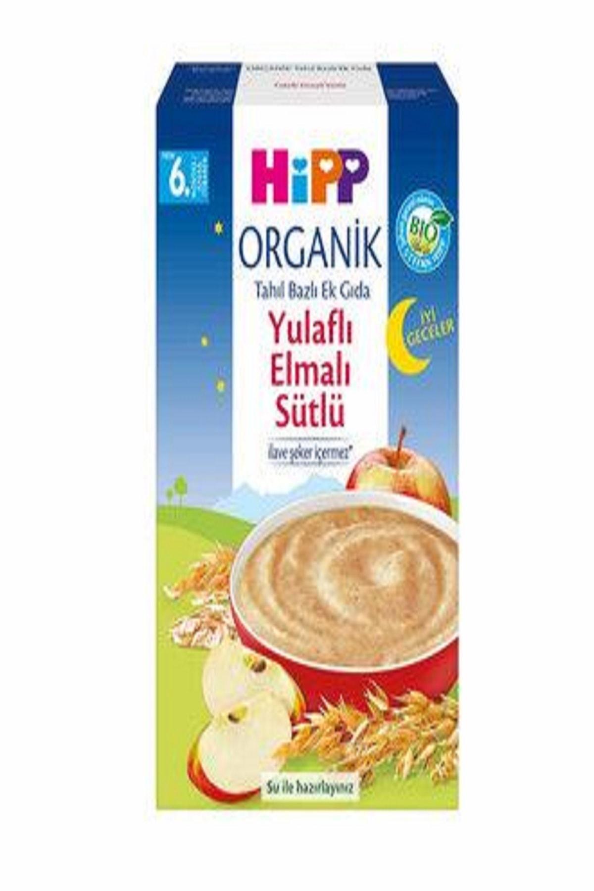 Organik Yulaflı Elmalı Gece Ek Gıda Kaşık Maması 250 gr