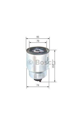 Bosch Yakit Filtresi Nissan Navara 05= Almera Ii 00= Primera Iii 02= Wk94022 1