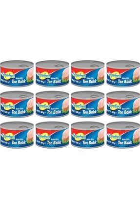 SuperFresh Klasik Ton Balığı Bütün Dilim 80 Gr X 12 Adet 0