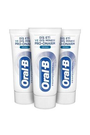 Oral-B Professional Diş Eti Ve Diş Minesi Pro Onarım Original 50 Ml X 3 Adet 0
