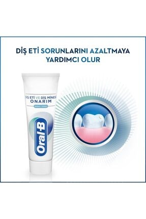 Oral-B Professional Diş Eti Ve Diş Minesi Pro Onarım Original 50 Ml X 3 Adet 4