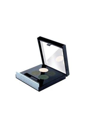 Dünya Cecile Matte Quattro Eyeshadow 4lü Far 807 Green Smoke 0