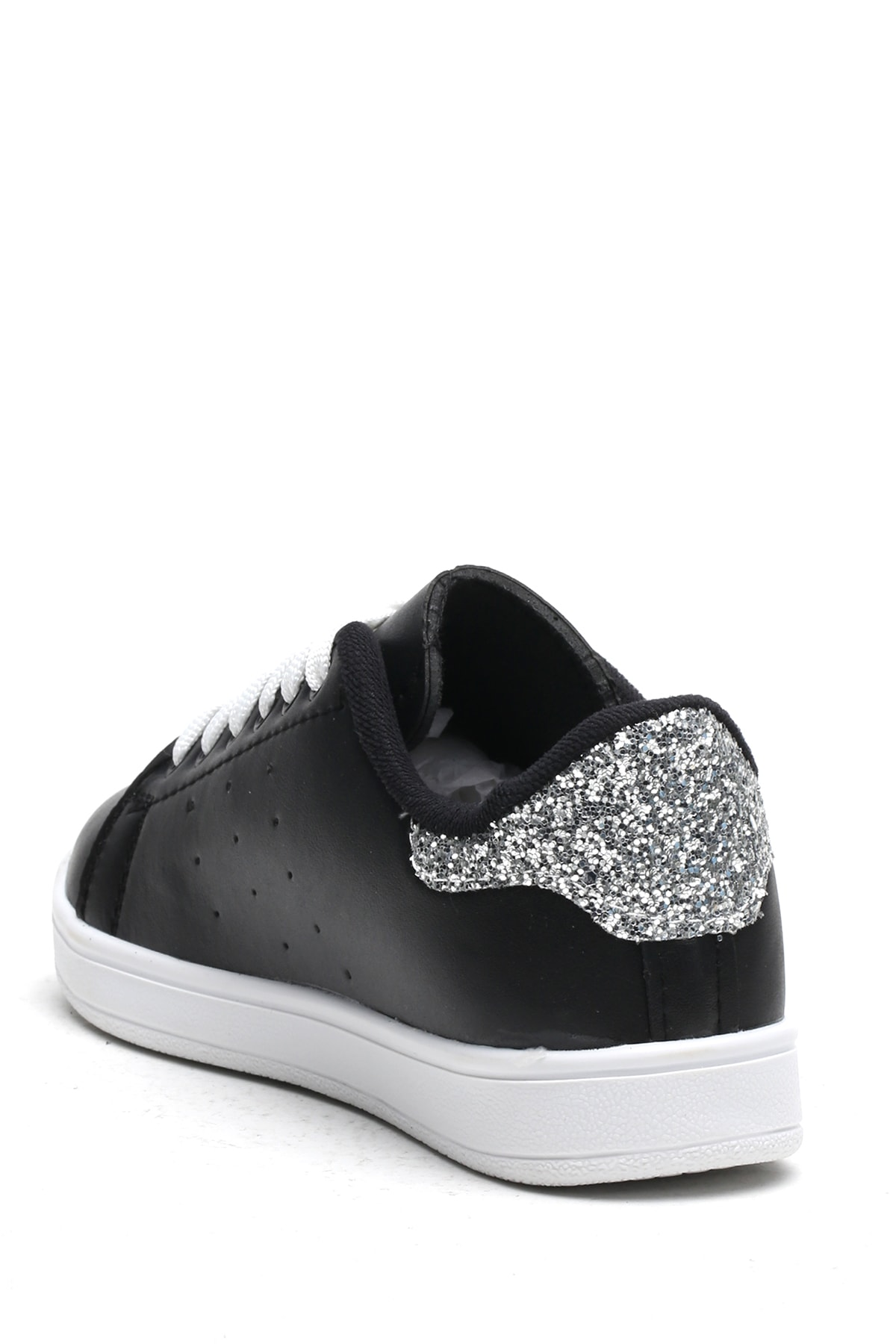 Ayakkabı Modası Siyah-Platin Kadın Casual Ayakkabı BM-4000-19-110003 2