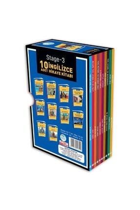 Mavi Çatı Yayınları Stage-3 Ingilizce Hikaye Seti 10 Kitap 1