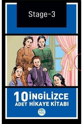 Mavi Çatı Yayınları Stage-3 Ingilizce Hikaye Seti 10 Kitap 2