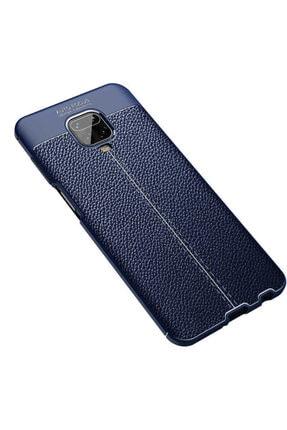Teknoloji Adım Redmi Note 9s Deri Görünümlü Silikon Kılıf Lacivert 1