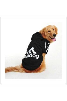 Kemique Gri Kapşonlu Adidog Sweatshirt Büyük Köpekler Için 3
