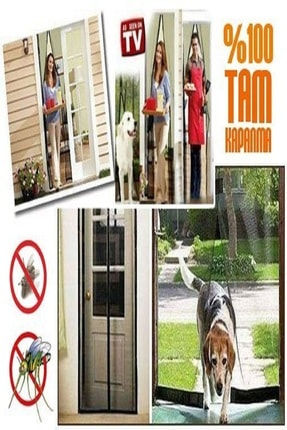 adisda Mıknatıslı Pencere Kapı Sinekliği Sineklik Tülü Perde 3