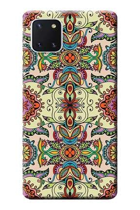 Kılıfmerkezi Samsung Galaxy Note 10 Lite Kılıf Sm-n770f Desen Baskılı Silikon Vektör Tasarım Stk:506 0