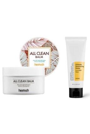Heimish All Clean Balm Makyaj Temizleme Balmı 120 ml  + Cosrx Besleyici Koruyucu Maske 60 ml seulcamp7833 0