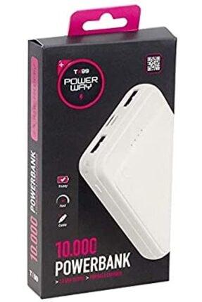POWERWAY 10.000 Mah Powerbank - Tx-99 0