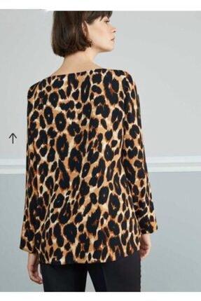 Nocturne Kadın Kahverengi Bluz 1