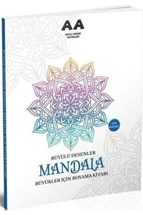 Akıllı Adam Mandala Büyülü Desenler Büyükler Için Boyama Kitabı 0